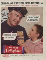 Cellophane Protects Tasty Freshness : Shows What It Protects! Protects What It Shows!