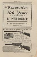 The Reputation of 100 Years Is the Guarantee of DuPont Powder
