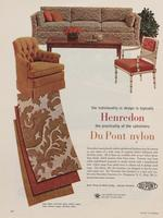 The Individuality in Design Is Typically Henredon : The Practicality of the Upholstery DuPont Nylon