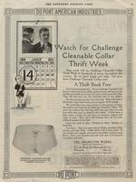 Watch for Challenge Cleanable Collar Thrift Week
