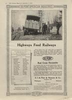 Highways Feed Railways : DuPont Red Cross Dynamite