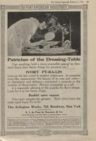 Patrician of the Dressing - Table