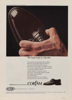 This tough brogue is a big softy : Corfam