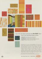 See all the New Fabrics Fashioned with DuPont Fibers - Now in Four Fascinating Design Centers