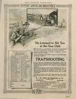 Trapshooting : He Learned To Hit 'Em at the Gun Club