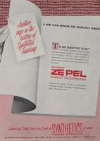 A New Stain Repeller for Decorative Fabrics : DuPont Ze Pel Fabric Fluoridizer