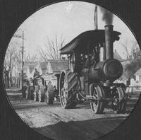 Steam tractor for DuPont Road Construction