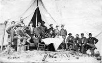 General Gillmore and staff, Morris Island