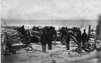 Battery B, 3rd NY Artillery, 'Napoleon guns', Captain Ashcroft, 2nd parallel
