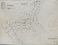 Outside Pipe and Electric Line maps, Brandywine Works, 1919-05-08