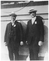 Pierre S. du Pont and William Coyne at DuPont Convention in Atlantic City, New Jersey