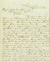 Correspondence, C.A. Belin to DuPont Company, 1862-07-11