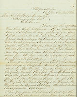 Correspondence, C.A. Belin to DuPont Company, 1862-09-01