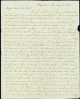Correspondence, William Marshall to Henry du Pont, 1861-08-02