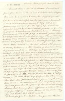 Correspondence, Mrs. Samuel Francis (Sophie) Du Pont to Clementina [Smith], 1861-11-22