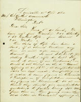 Correspondence, Alfred Victor du Pont to DuPont Company, 1862-04-15