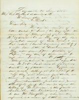 Correspondence, Alfred Victor du Pont to DuPont Company, 1862-04-16