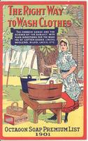 Right Way to Wash Clothes : Octagon Soap Premium List 1901