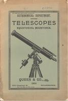 Astronomical Department: Telescopes, Equatorial Mountings