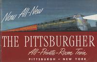 Now all-new, the Pittsburgher, all-private-room train, Pittsburgh-New York