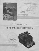 Outline of typewriter history