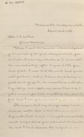 Correspondence, Xanthus Russell Smith to Sophie du Pont, 1885-04-26