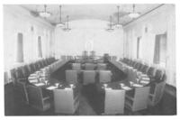 Board room at Chamber of Commerce building