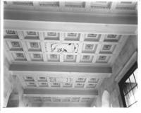 Interior ceiling at Chamber of Commerce building