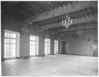 Reception room at Chamber of Commerce building