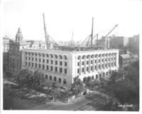 Exterior construction of Chamber of Commerce building