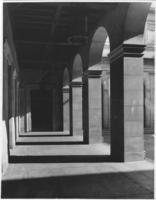 Courtyard arches at Chamber of Commerce building