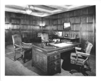 President's office in Chamber of Commerce building