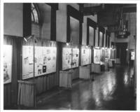 Hall of Flags exhibits at Chamber of Commerce building