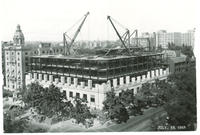 Chamber of Commerce building under construction