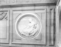 Sculpture on Chamber of Commerce building