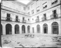 Courtyard at Chamber of Commerce building