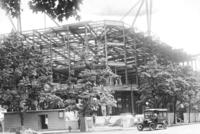 Skeleton of Chamber of Commerce building under construction