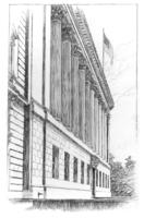 Drawing for Chamber of Commerce building