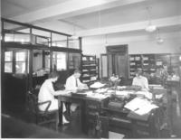 Office with employees in Chamber of Commerce building