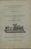 Catalogue of telegraph instruments and supplies