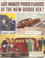 Last Minute Photo-Flashes of the New Dodge Six!