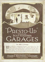 Presto-Up Patented Bolt-Together Garages