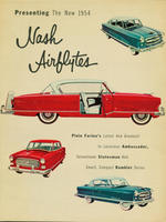 Presenting the New 1954 Nash Airflytes: Pinin Farina's Latest and Greatest!