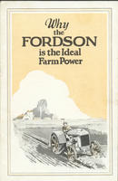 Why the Fordson Is the Ideal Farm Power