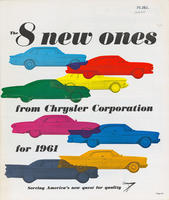 8 New Ones from Chrysler Corporation for 1961 : Serving America's New Quest for Quality