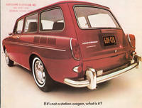If It's Not A Station Wagon, What Is It?