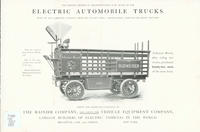 The Modern Method of Transportation is By Means of Our Electric Automobile Trucks