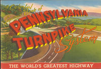 Colorful Souvenir Book of the Pennsylvania Turnpike System: The World's Greatest Highway