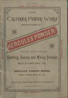 Hercules Powder: Sporting, Cannon and Mining Powder