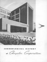 Chronological History of Chrysler Corporation